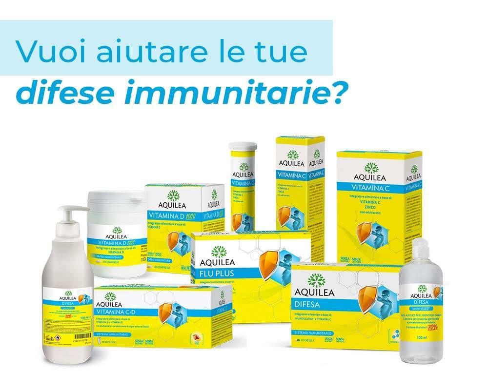 Vuoi aiutare le tue difese immunitarie?